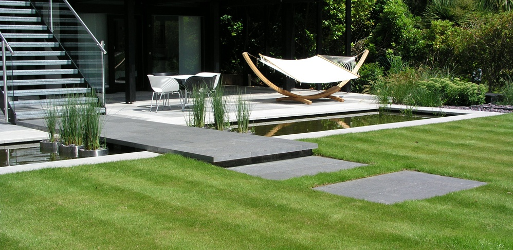 Garden Design Case Study - Huf Haus Private Client