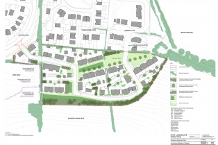 Landscape and Visual Impact Assessment Weymouth housing development with landscape mitigation design